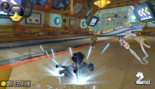 マリオカート8DX プレイ画像