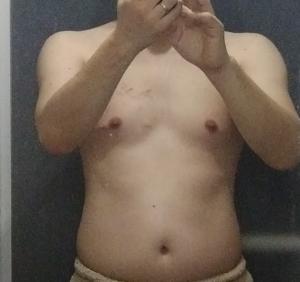 リングフィット2か月目の体型